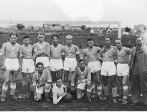 Drużyna piłkarska Żydowskiego Towarzystwa Gimnastyczno-Sportowego Makkabi Łomża