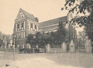 kościół św. Michała Archanioła w Łomży, pocz. XX w. Zbiory MPMŁ